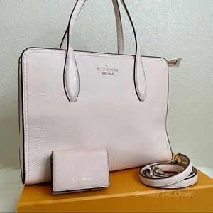 •Kate Spade•Light Pink Crossbody with Small Wallet
